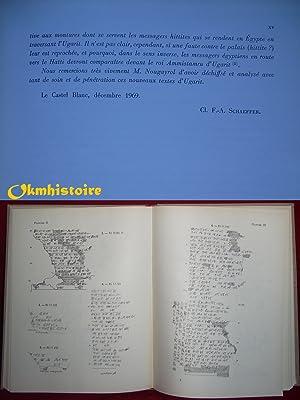 Mission de Ras Shamra. Tome XII : LE PALAIS ROYAL D'UGARIT - VI ( 6 ) : Textes en cuné...
