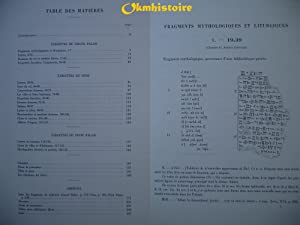 Mission de Ras Shamra. Tome XI : LE PALAIS ROYAL D'UGARIT - V ( 5 ) : Textes en cuné...