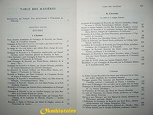 Gonzague de Reynold et son oeuvre - Etudes et Témoignages publiés à l'...