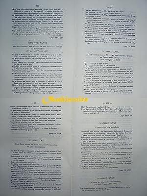 Mémoires de François Martin fondateur de Pondichéry. (1665 - 1696 ). ------ ...