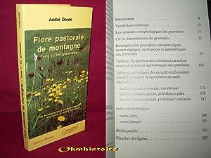 Flore pastorale de montagne. ------------ TOME 1 , Les graminées: Dorée ( Anne )