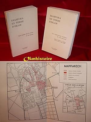 2 Volumes : Diaspora en Terre d'Islam - L'esprit populaire dans les juiveries du sud ...