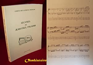 Oeuvres de Jean-Paul Paladin --- [ Corpus: RENAULT ( Michel