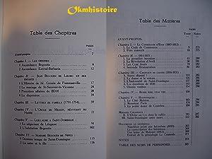 Mémorial d'une famille du Havre. -- TOME 1 : Les fondateurs. Choses et gens du XVIIIe ...