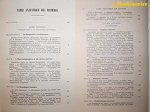 LES ORIGINES DU DUCHÉ DE BOURGOGNE . --------- Volume 2 , [ Géographie Historique , ...