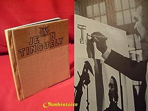Jean Tinguely Dessins et Gravures pour les: MASON ( Rainer
