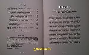 Flore du Cameroun ----- N° 11 , bénacées, Ericacées: LETOUZEY ( Renè ) & ...