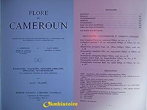 Flore du Cameroun ----- N° 15 , Icacinacées, Olacacées, Pentadiplandracées...