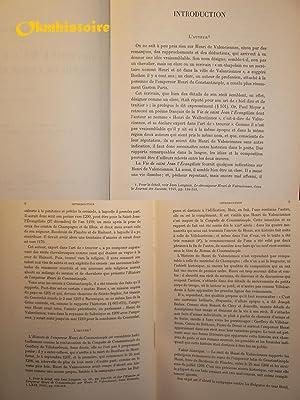 Henri de VALENCIENNES - Histoire de l'empereur Henri de Constantinople ------------ [ ...