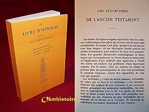 Le Livre d'Hénoch - Traduit sur le Texte Éthiopien: MARTIN ( François ) & ...