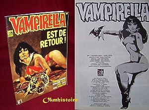 Vampirella est de retour. Nouvelle série, N°1 : Corben, Chaykin, Gonzales, Heath, Jones,...