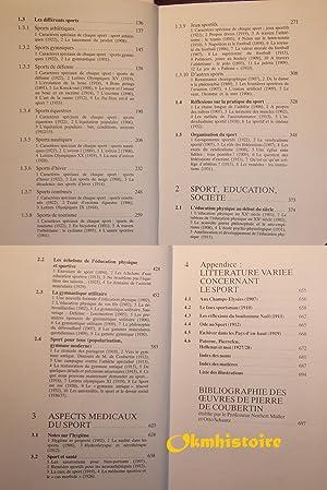 Pierre de Coubertin, Textes Choisis ------- TOME 3 , Pratique Sportive: COUBERTIN ( Pierre de ) [ ...