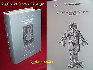 Monstrorum Historia --- Suivi de Paralipomena Accuratissima: ALDROVANDI ( Ulisse
