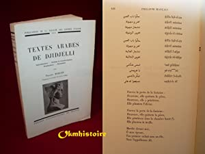 Textes arabes de Djidjelli - introduction , textes et transcription, traduction, glossaire