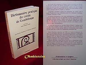 competitive price d4805 a9f05 Dictionnaire pratique du créole de Guadeloupe Suivi  TOURNEUX ( Henry