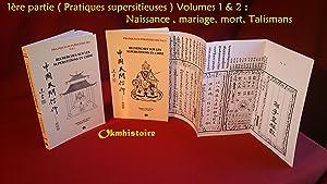Recherches sur les superstitions en Chine --------: Doré ( Henri