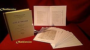 Archives de l'Athos - Livraison 20 : ACTES DE CHILANDAR ( Tome 1 ) Des Origines à 1319 ...