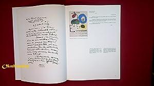 Joan Miró - Gérald Cramer. Une correspondance à toute épreuve: Joan ...