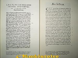 LES ESSAIS. ---- Reproduction photographique de l'édition Originale de 1580 avec une ...