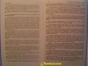 LES BERBERS [ Berbères ] DANS L'HISTOIRE . ------------ Tome 5 , De Ziri à ...