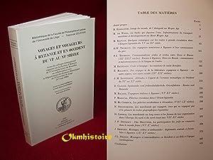 Voyages et voyageurs à Byzance et en Occident du VIe au XIe siècle. Actes du colloque...