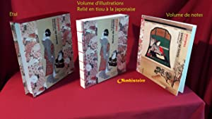 [ Shônagon Sei ] - Notes de chevet - Illustrées par Hokusai. --------- [ 2 Volumes sous étui ]