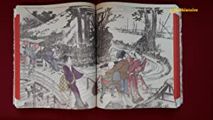 Shônagon Sei ] - Notes de chevet - Illustrées par Hokusai. --------- [ 2 Volumes sous ...