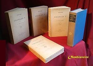 Histoire de Charles V ------ 5 volumes /5: DELACHENAL ( Roland ) [ 1854- 1923 ]