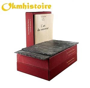 Encyclopédie de la couverture -------------- 3 Volumes sous emboitage: Association Ouvrière ...