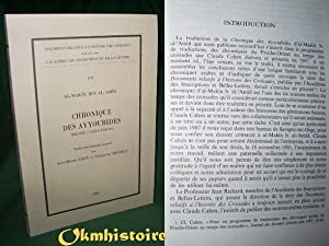Chroniques des Ayyoubides ( 602-658 / 1205-6_ 1259-60 ): Al-'Amid, Al-makin Ibn