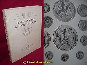 Cahiers d'archeologie biblique- sigillographie de l'orient latin.: Schlumberger ( Gustave