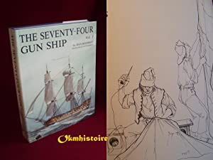 The Seventy-Four GUN SHIP . A Pratical Treatise of Naval Art 1780 ------- Volume 3, Masts, Sails,...