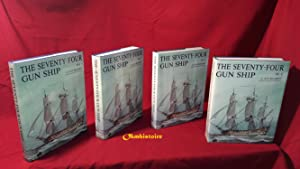 The Seventy-Four GUN SHIP . A Pratical Treatise of Naval Art 1780 ------- Complete set : 4 Volume...