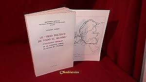 "LE "" PESO POLITICO TODO EL MUNDO "" D'ANTHONY SHERLEY ou un aventurier anglais au ..."