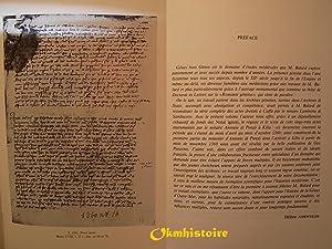 Gênes et l'outre-mer.-------- 2 Volumes /2 : TOME I , Les actes de Caffa du notaire...