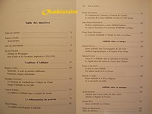 Adélaïde de Bourgogne -999-1999 . Genèse et représentation d'une ...