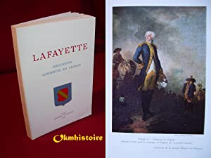 LAFAYETTE . Documents conservés en France