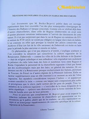 Raguse ( Dubrovnik ) et l'Empire Ottoman ( 1430-1520 ). Les actes impériaux ottomans en ...