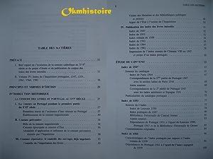 Index des livres interdits. ---------- TOME 4 , Index de l ' Inquisition portugaise : 1547, ...