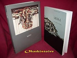 1 lot de 2 volumes : ANTONIO SAURA. Peintures 1956-1985. Catalogue d'exposition - Rainer ...