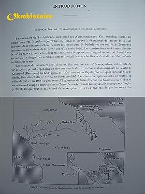 Archives de l'Athos - Livraison 9 : ACTES DE KASTAMONITOU - ------- 1 Volume de Texte avec 16 ...
