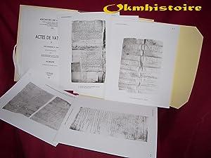 Archives de l'Athos - Livraison 21 : ACTES de Vatopédi ( Tome 1 ) Des Origines à...