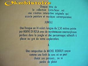 JUNGLE - [ Livre Laser + decalcomanies ]: DI ROSA ( Hervé ) [ Peintures de ] [ et collectif ]