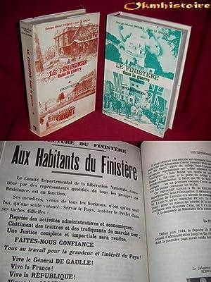 Le Finistère dans la guerre 1939-1945 . --------- 2 vol/2 . tome I : l'Occupation ...