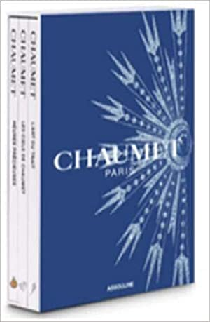 CHAUMET ------ 3 Volumes in slip case : The Art of the Stroke ---- Precious Time ---- Les Ciels d...