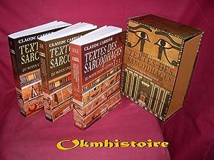 Textes des sarcophages du Moyen Empire égyptien ----------- 3 Volumes/ 3: CARRIER ( Claude ) [ ...