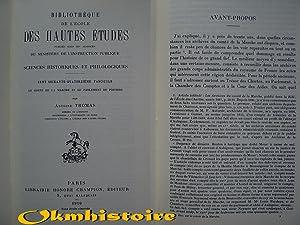 Le Comté de la Marche et le Parlement de Poitiers ( 1418-1436 ): THOMAS ( Antoine )