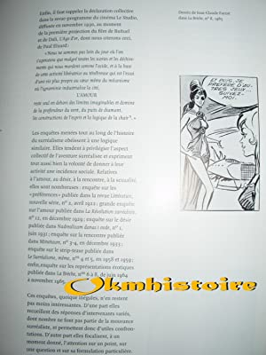 Le surréalisme et l'amour -------- Exposition Pavillon des Arts 6 Mars - 18 juin 1997: ...