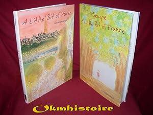 1 lot de 2 volumes : A little bit of France + A little bit of Paris: Sempé ( Jean-Jacques )