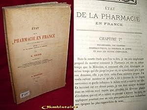 État de la pharmacie en France avant la loi du 21 germinal an XI : étude sur une ...